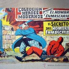 Tebeos: COMIC, EL HOMBRE ENMASCARADO, COLECCION HEROES MODERNOS, EL SECRETO, Nº 5, ORIGINAL. Lote 30718901