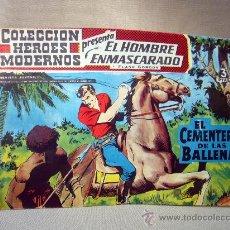 Tebeos: COMIC, EL HOMBRE ENMASCARADO, COLECCION HEROES MODERNOS, EL CEMENTERIO DE LAS BALLENAS, Nº 4, ORIGIN. Lote 30719021
