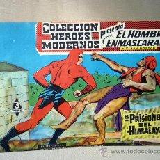 Tebeos: COMIC, EL HOMBRE ENMASCARADO, COLECCION HEROES MODERNOS, EL PRISIONERO DEL HIAMLAYA, Nº 13, ORIGINAL. Lote 30719050