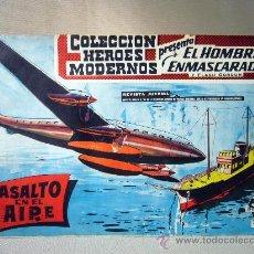 Tebeos: COMIC, EL HOMBRE ENMASCARADO, COLECCION HEROES MODERNOS, ASALTO EN EL AIRE, Nº 7, ORIGINAL. Lote 30719224