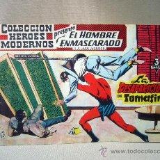 Tebeos: COMIC, EL HOMBRE ENMASCARADO, COLECCION HEROES MODERNOS, LA DESAPARICION DE TOMASIN, Nº 12, ORIGINAL. Lote 30730861