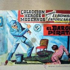 Tebeos: COMIC, EL HOMBRE ENMASCARADO Y FLASH GORDON, HEROES MODERNOS, EL BARON PIRATA,, Nº 16, ORIGINAL . Lote 30731771