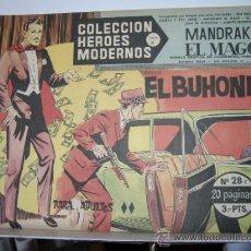 Tebeos: MANDRAKE EL MAGO Nº28.SERIE C COLECCION HEROES MODERNOS. Lote 30747509