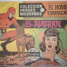Tebeos: EL HOMBRE ENMASCARADO SERIE A Nº 24.COLECCION HEROES MODERNOS. Lote 30747772