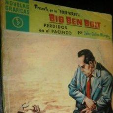 Tebeos: NOVELAS GRAFICAS SERIE VERDE BIG BEN BOLT 9 PERDIDOS EN EL PACIFICO . Lote 30959378