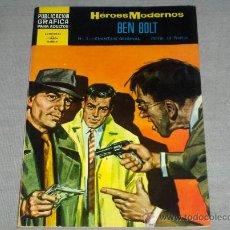 Tebeos: HÉROES MODERNOS BEN BOLT Nº 5. DOLAR 1966. 10 PTS. .. Lote 31398802