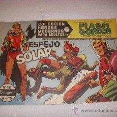 Tebeos: COLECCIÓN HEROES MODERNOS SERIE B Nº 58, CON FLASH GORDON, EDITORIAL DÓLAR. Lote 31734869