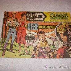 Tebeos: COLECCIÓN HEROES MODERNOS SERIE B Nº 36, CON FLASH GORDON, EDITORIAL DÓLAR. Lote 31734942