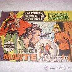 Tebeos: COLECCIÓN HEROES MODERNOS SERIE B Nº 13, CON FLASH GORDON, EDITORIAL DÓLAR. Lote 31734974
