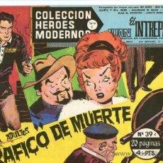 Tebeos: COLECCION HEROES MODERNOS Nº 39 * SERIE C * JUAN EL INTREPIDO ** DOLAR **. Lote 31879887