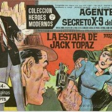 Tebeos: COLECCION HEROES MODERNOS Nº 14 * SERIE C * AGENTE SECRETO X-9 DEL F.B.I. ** DOLAR **. Lote 31879952