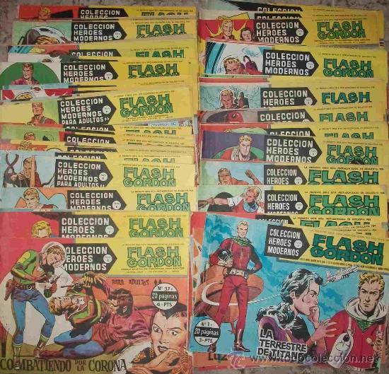 FLASH GORDON (SERIE B) (DOLAR) 75 EJ (COMPLETA) (Tebeos y Comics - Dólar)