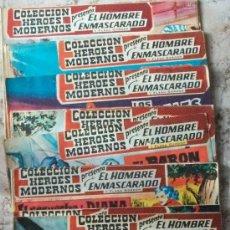 Tebeos: HOMBRE ENMASCARADO (DOLAR) (SERIE-CEROS) LOTE DE 20 NUMEROS. Lote 32908680
