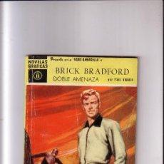 Tebeos: BRICK BRADFORD //SERIE AMARILLA N. 18- ED. DOLAR // DOBLE AMENAZA POR PAUL NORRIS // SERIE AMARILLA. Lote 34088236