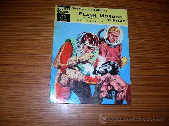SERIE AMARILLA FLASH GORDON Nº 37 DE DOLAR (Tebeos y Comics - Dólar)