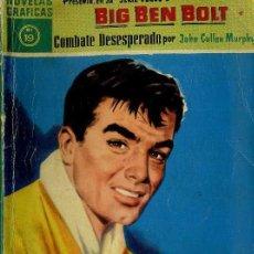 Tebeos: BIG BEN BOLT : COMBATE DESESPERADO (DÓLAR, 1959). Lote 35997840