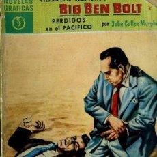 Tebeos: BIG BEN BOLT : PERDIDOS EN EL PACÍFICO (DÓLAR, 1960). Lote 35997879