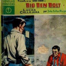 Tebeos: BIG BEN BOLT : LUCHA CALLEJERA (DÓLAR, 1959). Lote 35997934
