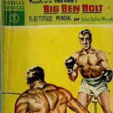 Tebeos: BIG BEN BOLT : POR EL TÍTULO MUNDIAL (DÓLAR, 1959). Lote 35997995