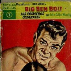 Tebeos: BIG BEN BOLT : LOS PRIMEROS COMBATES (DÓLAR, 1959). Lote 35998039