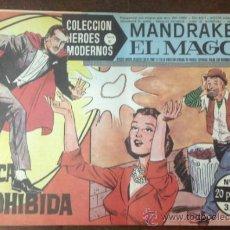 Tebeos: MANDRAKE EL MAGO. N. 11. PESCA PROHIBIDA. COLECCION HEROES MODERNOS. SERIE C. . Lote 36157367