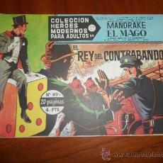 Tebeos: MANDRAKE EL MAGO HEROES MODERNOS DOLAR SERIE C Nº 49 IMPECABLE. Lote 222493681