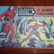 Livros de Banda Desenhada: EL HOMBRE ENMASCARADO HEROES MODERNOS DOLAR SERIE A Nº 20. Lote 189173526