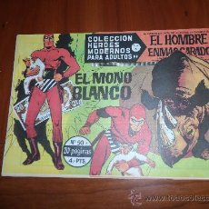 Tebeos: EL HOMBRE ENMASCARADO HEROES MODERNOS DOLAR SERIE A Nº 50 IMPECABLE. Lote 245007815