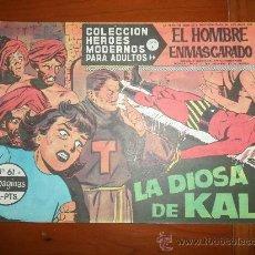 Tebeos: EL HOMBRE ENMASCARADO HEROES MODERNOS DOLAR SERIE A Nº 61 IMPECABLE. Lote 262573770