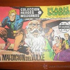 Tebeos: FLASH GORDON HEROES MODERNOS DOLAR SERIE B Nº 38 IMPECABLE. Lote 117468063