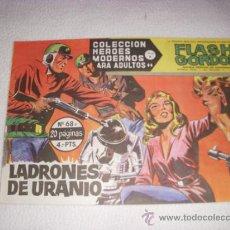 Livros de Banda Desenhada: COLECCIÓN HEROES MODERNOS Nº 68, SERIE B, CON FLASH GORDON, EDITORIAL DÓLAR. Lote 36847724