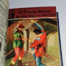 Tebeos: NOVELAS GRAFICAS EL PRINCIPE VALIENTE, SERIE SEPIA, ED. DOLAR. Nº 17, 20, 21, 23, 24, 27 - ENCUADERN. Lote 36884837