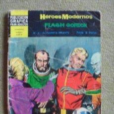 Tebeos: HEROES MODERNOS Nº 8 ** ED. DOLAR ** FLASH GORDON. Lote 38769573
