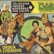 Tebeos: FLASH GORDON Nº 44. LA DROGA DE LA COBARDIA. COLECCION HEROES MODERNOS SERIE B. ORIGINAL DOLAR . Lote 39089995