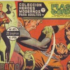 Tebeos: FLASH GORDON Nº 49. EL EXTRAÑO. COLECCION HEROES MODERNOS SERIE B. ORIGINAL DOLAR . Lote 39090019