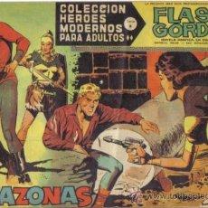 Tebeos: FLASH GORDON Nº 50. LAS AMAZONAS. COLECCION HEROES MODERNOS SERIE B. ORIGINAL DOLAR . Lote 39090106