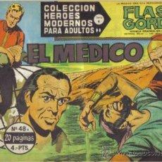 Tebeos: FLASH GORDON Nº 48. EL MEDICO. COLECCION HEROES MODERNOS SERIE B. ORIGINAL DOLAR . Lote 39090169