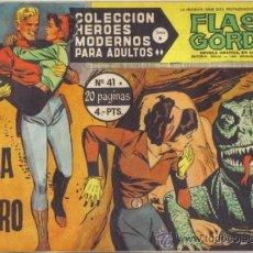 Tebeos: FLASH GORDON Nº 41. EN BUSCA DEL PELIGRO. COLECCION HEROES MODERNOS SERIE B.. Lote 39189214