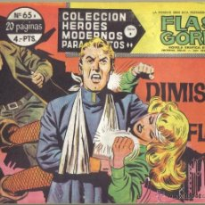Tebeos: FLASH GORDON Nº 65. LA DIMISION DE FLASH. COLECCION HEROES MODERNOS, SERIE B. LITERACOMIC.. Lote 39647205