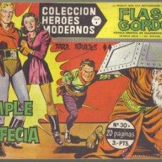 Tebeos: FLASH GORDON Nº 30 . SE CUMPLE LA PROFECÍA. COLECCION HEROES MODERNOS, SERIE B. LITERACOMIC.. Lote 39721243
