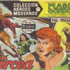 Tebeos: FLASH GORDON Nº 33 . CIRCEA. COLECCION HEROES MODERNOS, SERIE B.. Lote 39877299