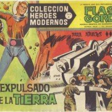 Tebeos: FLASH GORDON Nº 34. EXPULSADO DE LA TIERRA. COLECCION HEROES MODERNOS, SERIE B.. Lote 39877348