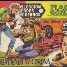Tebeos: FLASH GORDON Nº 37 . COMBATIENDO POR LA CORONA. COLECCION HEROES MODERNOS, SERIE B.. Lote 39920943