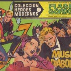 Tebeos: FLASH GORDON Nº 40. MUSICA DIABOLICA. COLECCION HEROES MODERNOS, SERIE B.. Lote 39971113