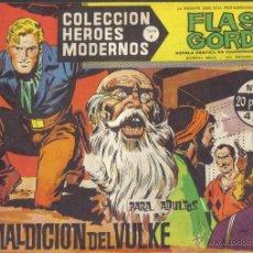 Tebeos: FLASH GORDON Nº 38. LA MALDICION DEL VULKE. COLECCION HEROES MODERNOS, SERIE B.. Lote 39971149