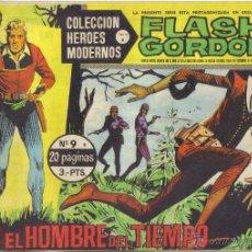 Tebeos: FLASH GORDON Nº 9 . EGON EL HOMBRE DEL TIEMPO. COLECCION HEROES MODERNOS, SERIE B. LITERACOMIC.. Lote 40044497