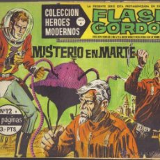 Tebeos: FLASH GORDON Nº 12. MISTERIO EN MARTE. COLECCION HEROES MODERNOS, SERIE B.. Lote 40044663