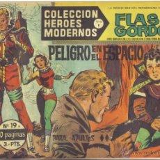 Tebeos: FLASH GORDON Nº 19. PELIGRO EN EL ESPACIO. COLECCION HEROES MODERNOS, SERIE B. LITERACOMIC.. Lote 40123480