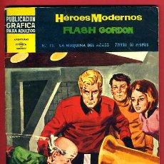 Tebeos: HEROES MODERNOS , DOLAR , FLASH GORDON , Nº 15 , DOLAR , ORIGINAL , A. Lote 42689581