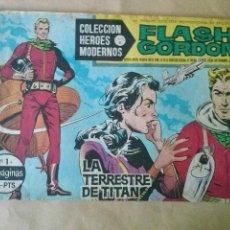 Tebeos: FLASH GORDON Nº 1 -HEROES MODERNOS SERIE C- DOLAR. Lote 43716557